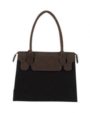 Средняя сумка из текстиля GB8. Цвет: черный