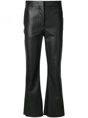 Байкерские брюки клеш Cédric Charlier. Цвет: чёрный