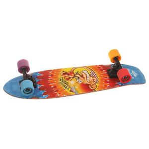 Скейт круизер  Grateful Dead Ice Kid Cruiser Cream Tie Dye 8.25 x 31 (78.7 см) Dusters. Цвет: мультиколор