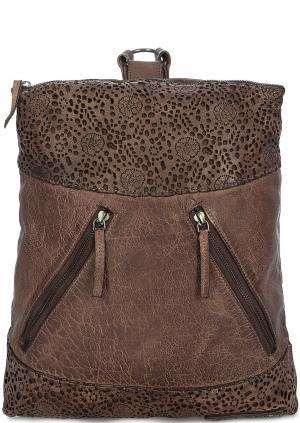 Рюкзак Taschendieb. Цвет: коричневый