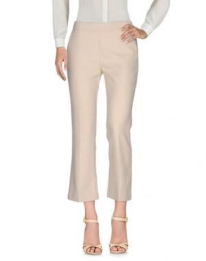 Повседневные брюки NIOI. Цвет: бежевый