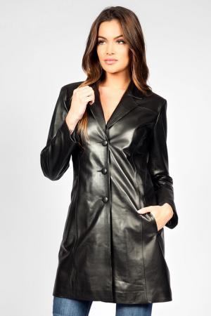 Пальто Giorgio. Цвет: black