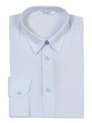 Рубашка M-BABY. Цвет: голубой