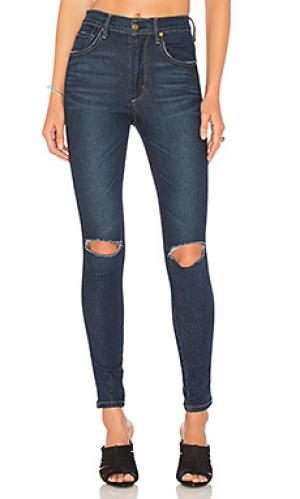 Узкие укороченные джинсы high class James Jeans. Цвет: none