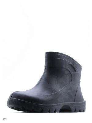 Резиновые сапоги Nordman. Цвет: черный