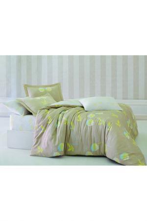 Комплект постельного белья Marie claire. Цвет: beige, white,yellow