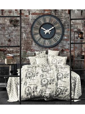 Комплект постельного белья GRENNY ранфорс, 145ТС, 1,5x ISSIMO Home. Цвет: белый