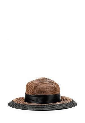 Шляпа Fete. Цвет: коричневый