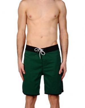 Пляжные брюки и шорты LIGHTNING BOLT. Цвет: зеленый