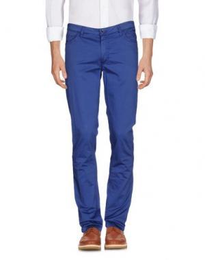 Повседневные брюки HARRY & SONS. Цвет: синий