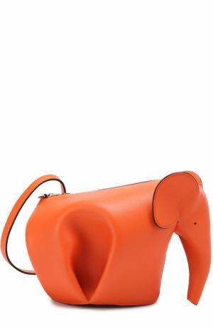 Сумка Elephant Loewe. Цвет: оранжевый
