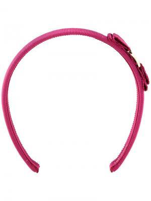 Ободок Grosgrain Salvatore Ferragamo. Цвет: розовый и фиолетовый
