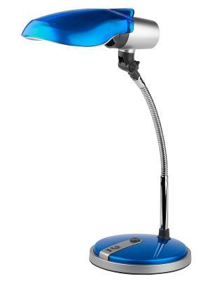 Настольный светильник NE-301-E27-15W-BU Эра. Цвет: синий