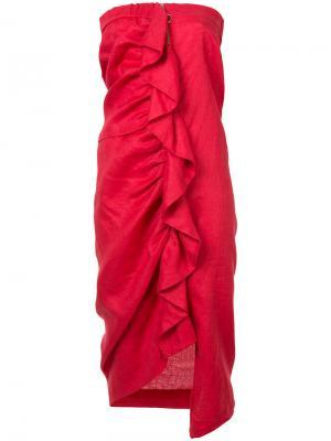 Платье Harbourside Vale. Цвет: красный