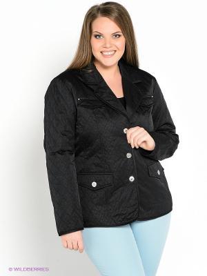 Куртка WEGA. Цвет: черный
