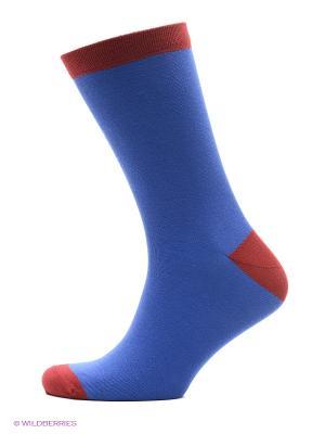 Носки DOCTOR E. Цвет: голубой, красный