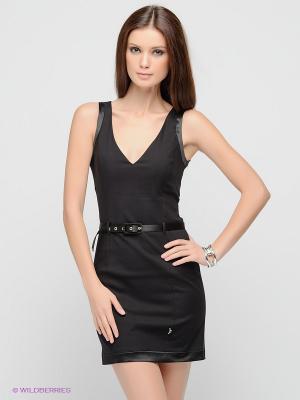 Платье FRACOMINA. Цвет: черный