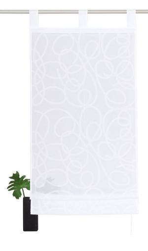 Римская штора Tanaro Otto. Цвет: белый