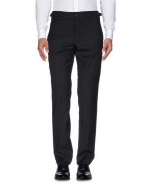 Повседневные брюки FAÇONNABLE. Цвет: стальной серый