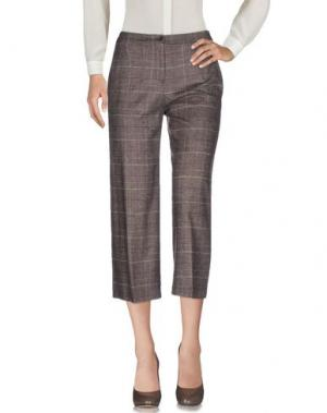 Повседневные брюки LAURA URBINATI. Цвет: хаки