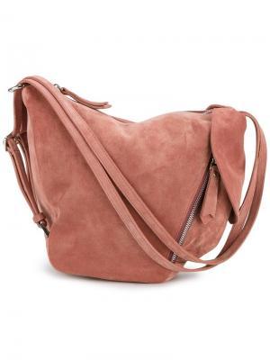 Сумка на плечо Fernweh Manu Atelier. Цвет: розовый и фиолетовый