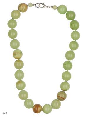 Ожерелье 11305 Jana Duff  цвет зеленый. Цвет: зеленый