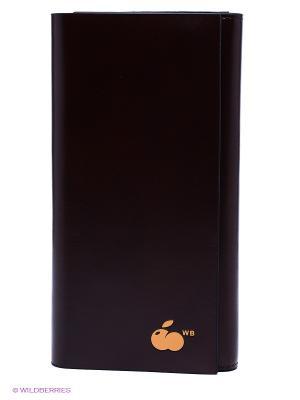 Кошелек WB. Цвет: коричневый