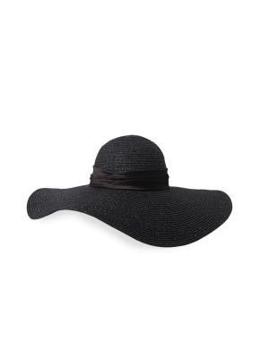 Шляпа MAISONQUE. Цвет: черный