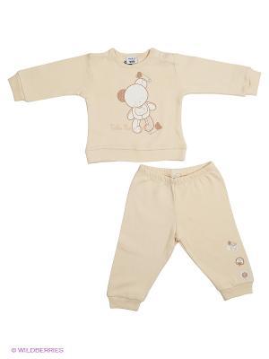 Пижама MANAI. Цвет: бежевый