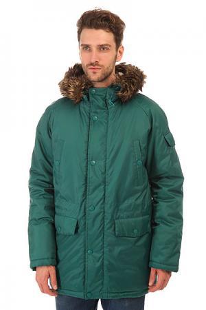 Куртка парка  Oxford Parka Green Today. Цвет: зеленый
