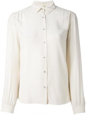 Классическая рубашка Bellerose. Цвет: телесный