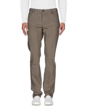 Джинсовые брюки JOHN VARVATOS. Цвет: серый