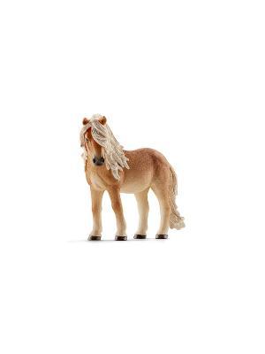 Исландский пони, кобыла SCHLEICH. Цвет: бежевый, рыжий
