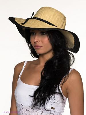 Шляпа Canoe. Цвет: бежевый, черный