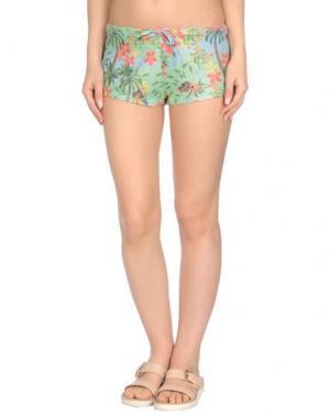 Пляжные брюки и шорты AGOGOA. Цвет: небесно-голубой