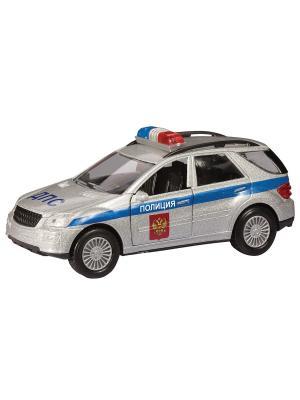Машина GERMANY ALLROAD милиция AUTOTIME. Цвет: серебристый