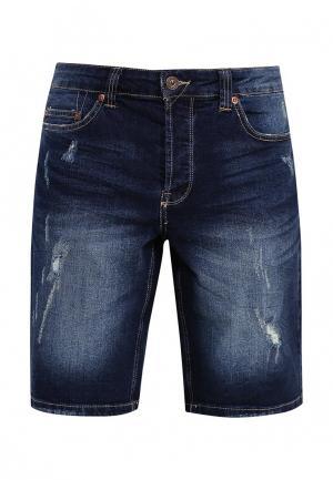 Шорты джинсовые Only & Sons. Цвет: синий