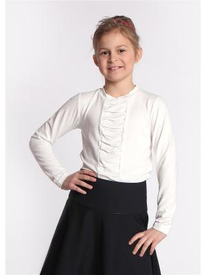 Блуза 80 LVL. Цвет: молочный