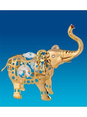Фигурка Слон Юнион. Цвет: золотистый