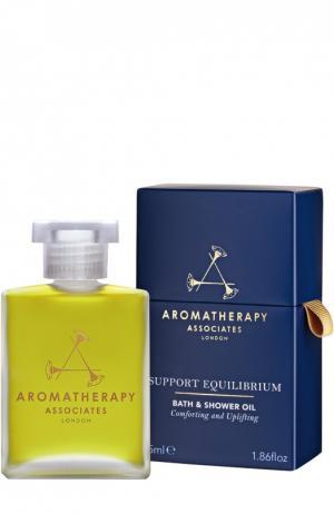 Гармонизирующее масло для ванны и душа Support Equilibrium Bath & Shower Oil Aromatherapy Associates. Цвет: бесцветный