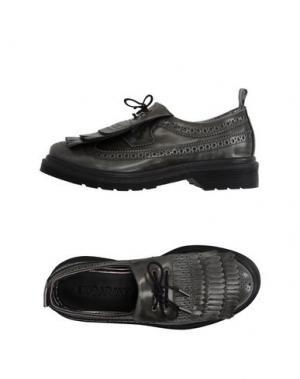 Обувь на шнурках LEQARANT. Цвет: свинцово-серый