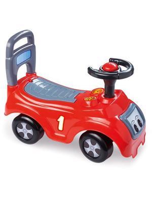 Автомобиль-каталка красный Dolu.. Цвет: красный
