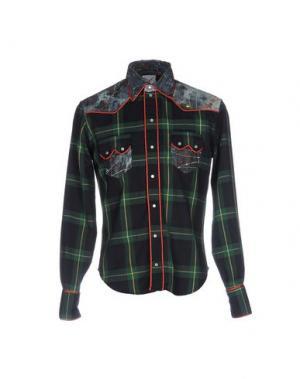 Pубашка LEITMOTIV. Цвет: зеленый