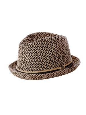 Шляпа Fore!! Axel and Hudson. Цвет: бежевый, черный