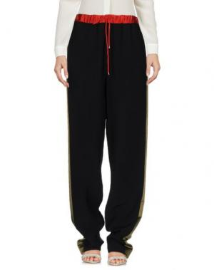 Повседневные брюки JONATHAN SAUNDERS. Цвет: черный