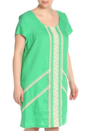 Платье Terra. Цвет: зеленый