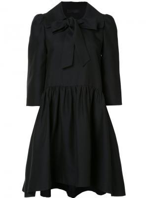 Платье с оборками Co. Цвет: чёрный