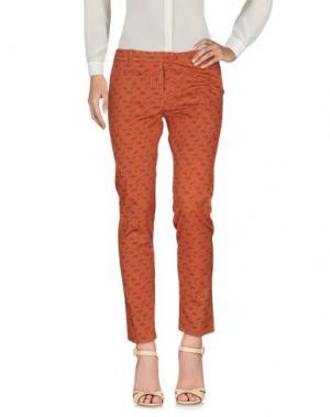 Повседневные брюки SUPERPANTS. Цвет: коричневый