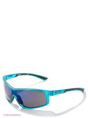 Солнцезащитные очки Polaroid. Цвет: морская волна, черный