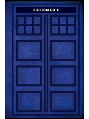 Blue Box Note. Космический блокнот для путешественников во времени (твердый переплет) Эксмо. Цвет: белый